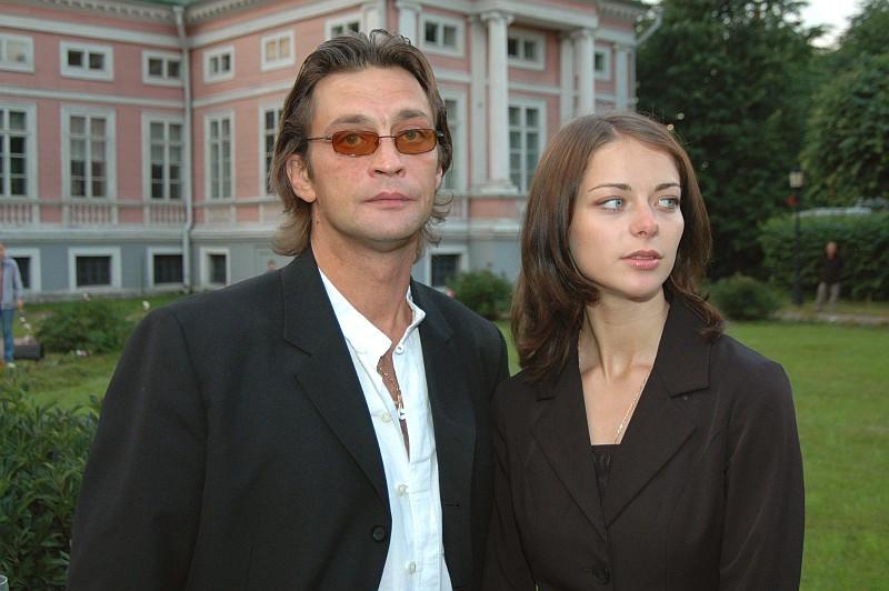 Марина Александрова и Александр Домогаров