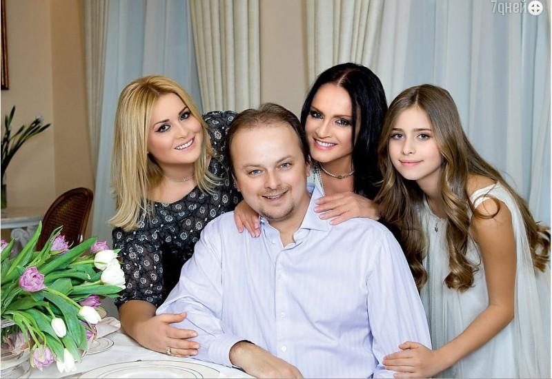 Семья и внуки Софии Ротару