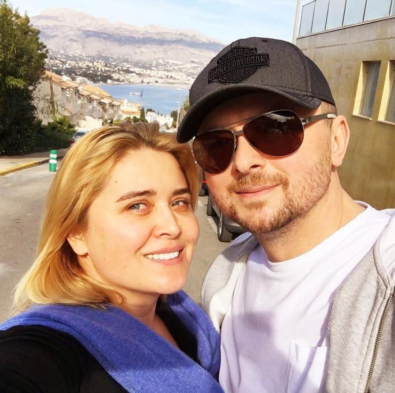 Сын Софии Ротару – Руслан Евдокименко с его супругой Светланой