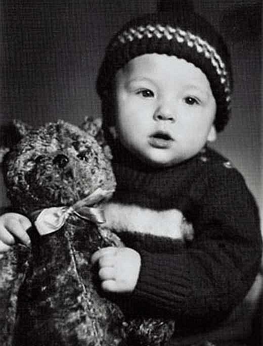 Константин Эрнст в детстве