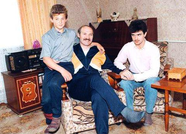 Семья и дети Александра Лукашенко