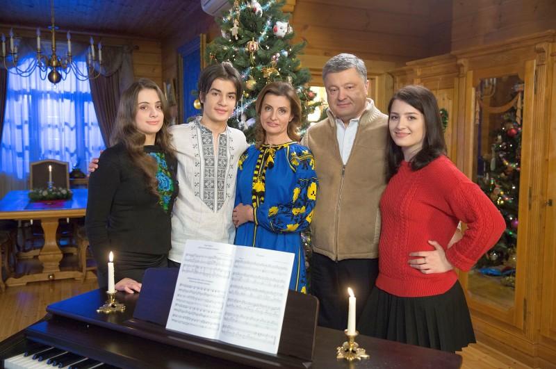 Семья и дети Петра Порошенко
