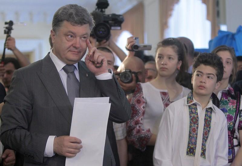 Сын Петра Порошенко – Михаил Порошенко
