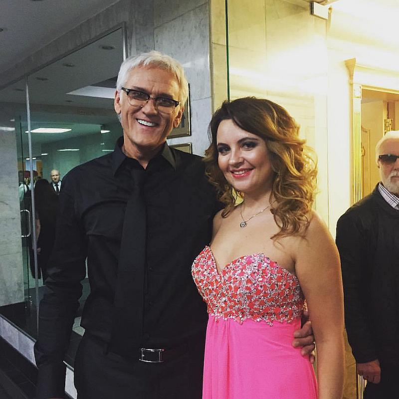 Александр Маршал и его дочь Полина