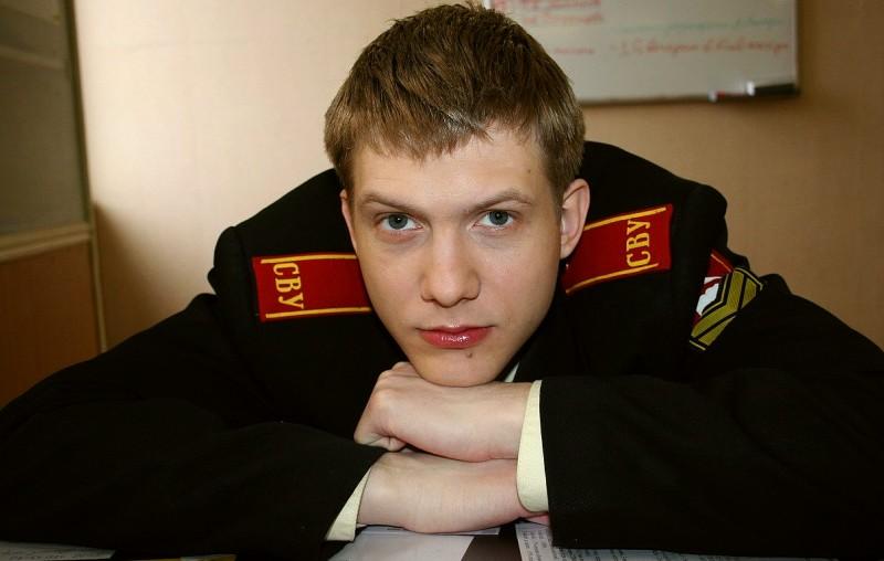 Борис Корчевников в молодости