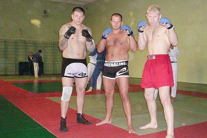 Федор Емельяненко начало в MMA