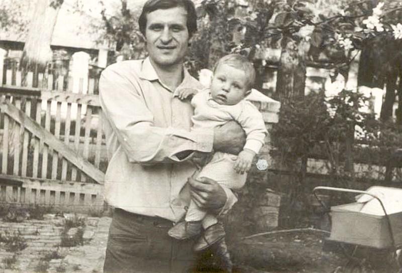Федор Емельяненко с отцом