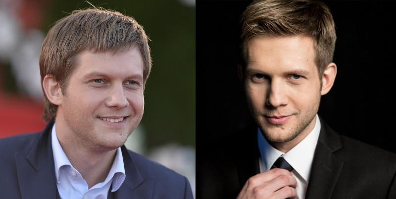 Фото Бориса Корчевникова до и после пластики