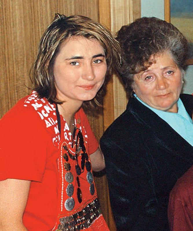 Земфира с мамой Флоридой Хакимовной