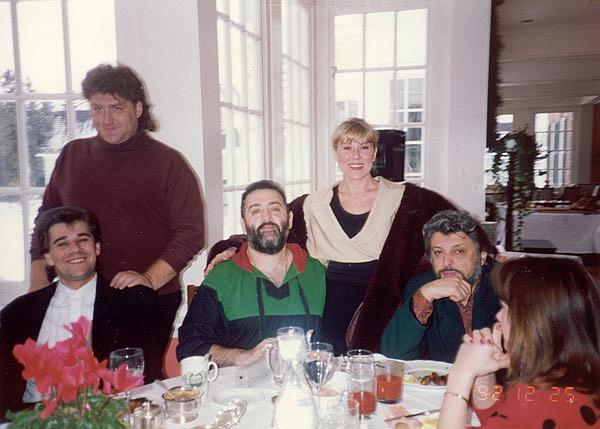 Любовь Успенская, Михаил Шуфутинский, Вячеслав Добрынин, 1992 год