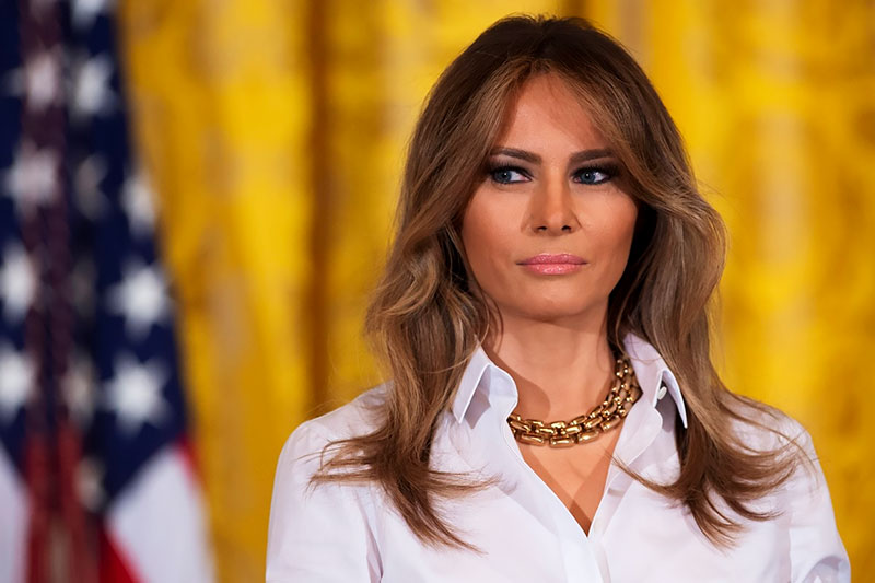 Мелания Трамп: биография, личная жизнь, семья, муж, дети — фото