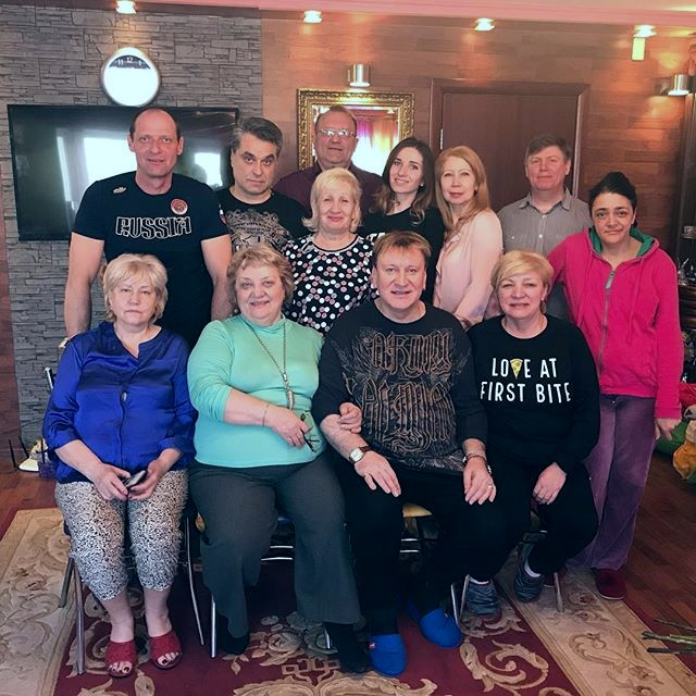 Семья и дети Сергея Пенкина