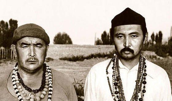 Абай Борубаев и Мирза Кымбатбаев
