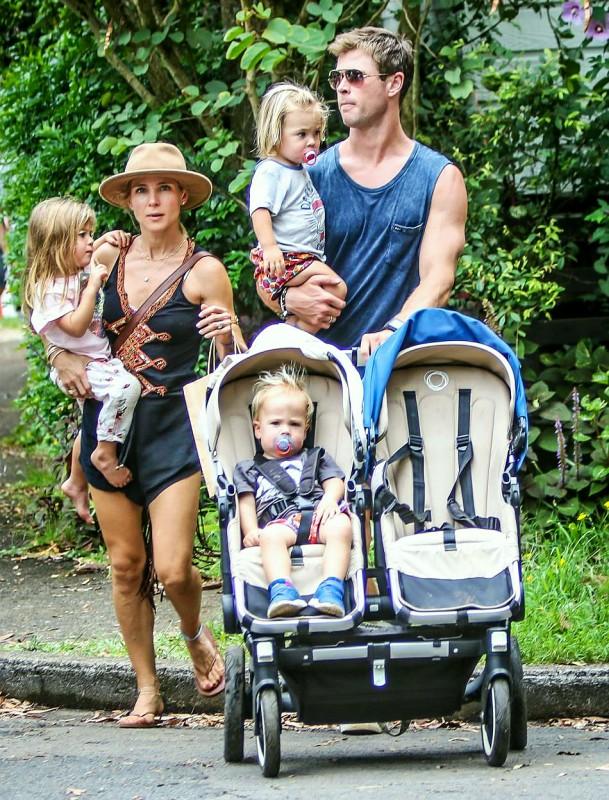 Семья и дети Криса Хемсворт