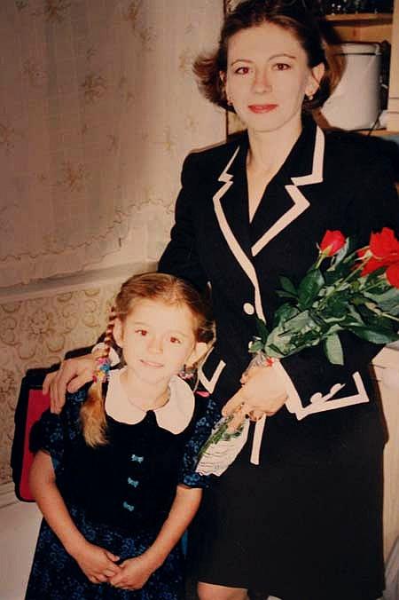 Семья и дети Ксении Сурковой