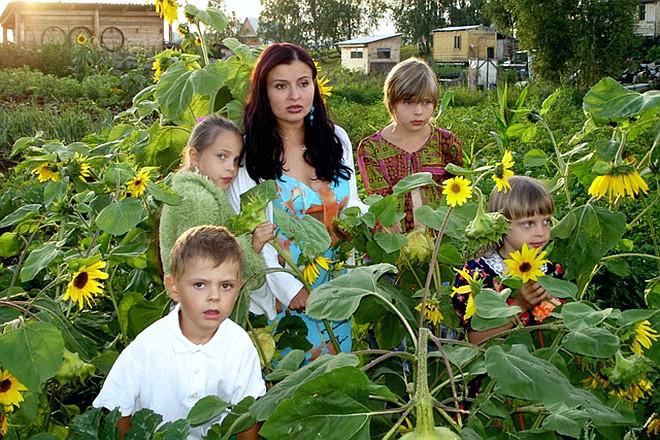 Светлана Владимирская с детьми