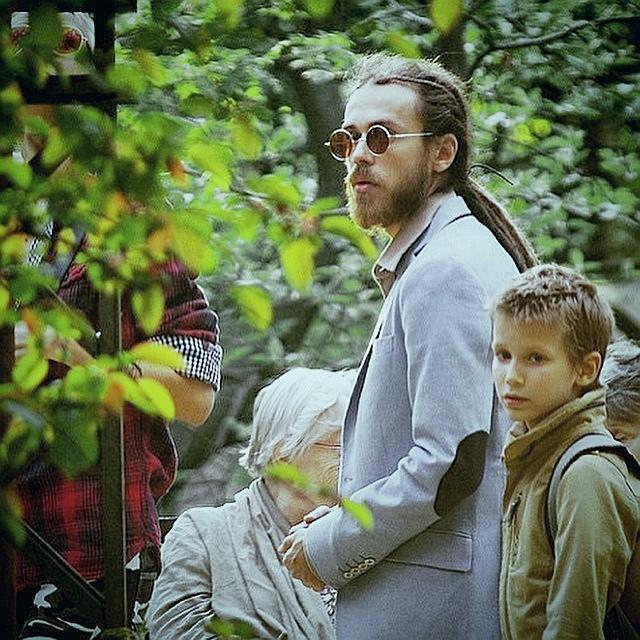 Кирилл Толмацкий (Децл) с сыном