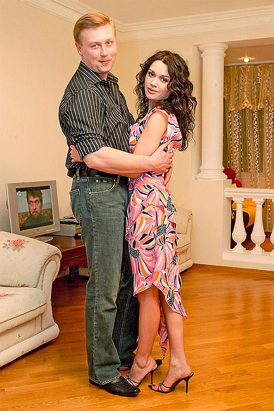 Анастасия Заворотнюк со вторым мужем Дмитрием Стрюковым