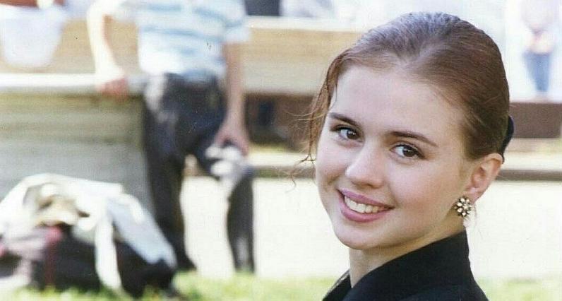 Анна Семенович в 17 лет