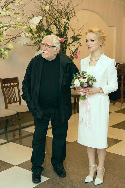 Свадьба Виталины Цымбалюк-Романовской и Армена Джигарханяна