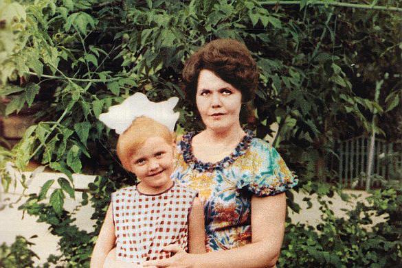 Валерия со своей мамой