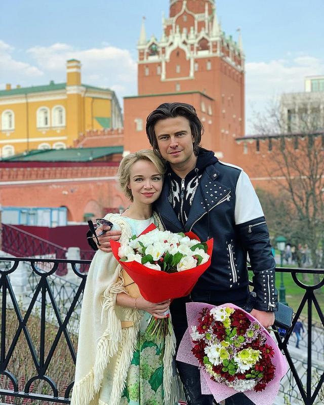 Виталина Цымбалюк-Романовская с гражданским мужем