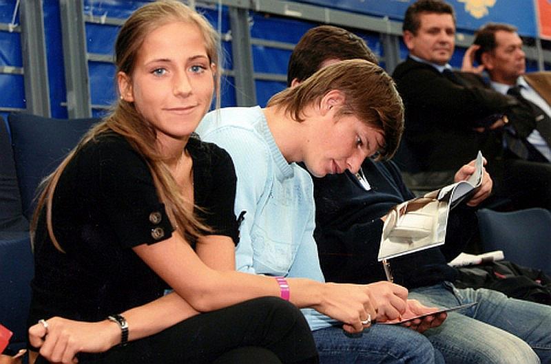 Юлия Барановская и Андрей Аршавин в Лондоне